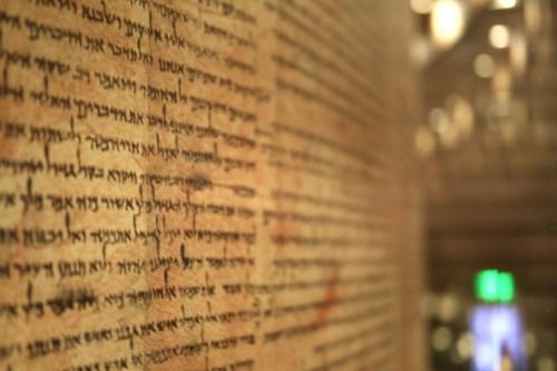 גווילי ספר תורה ממערות קומארן
