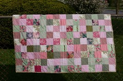 Mom's quilt - long side