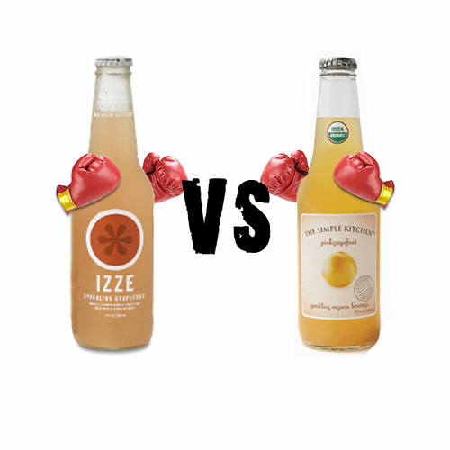 Izze Grapefruit vs The Simple Kitchen Grapefruit