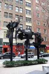 NYC: Louise Nevelson Plaza