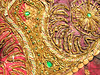 Gold-embroidered Fabric