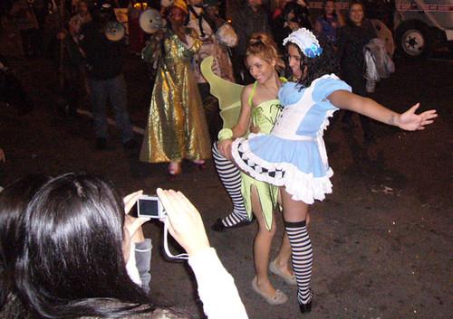 desfile de halloween c