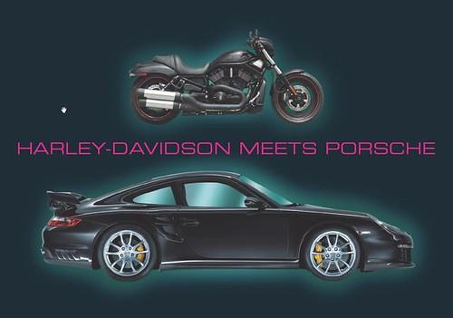 Harley meets Porsche