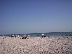 Treasure Island Beach sand
