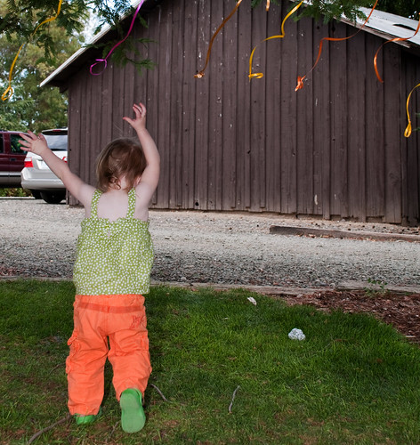 Ellie and Streamers