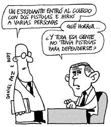 Charge do jornal argentino Página 12