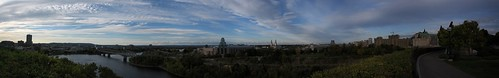Panorama from Parliament Hill, Ottawa
