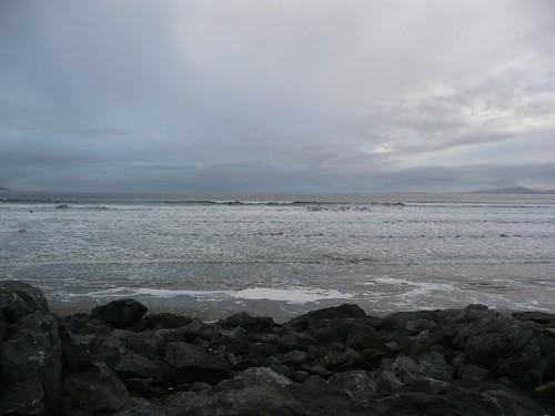 Big Sky, big sea, big rocks