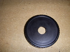 Nikon body cap with 1/2 inch hole
