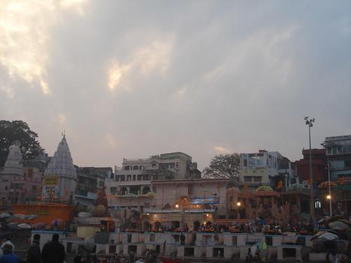 Ganges River1-4看不到夕陽的恆河天空