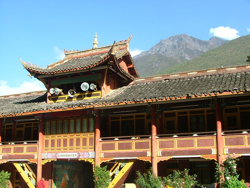 Monestary and Mountains