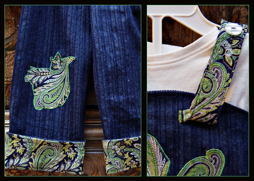 sari outfit details