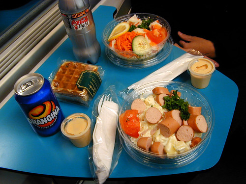 Luxembourg train meal