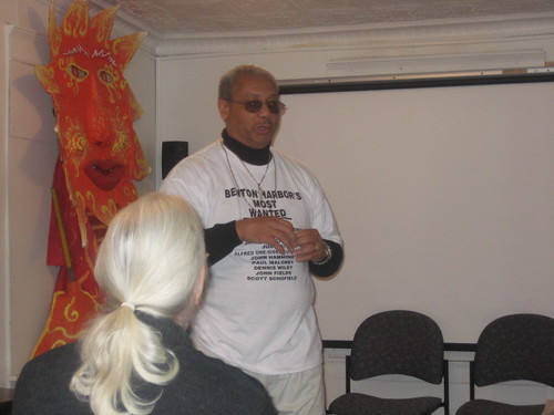Reverend Pinkney Speaks 11-14-07 #1