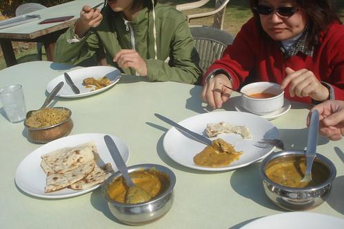 前往Jaisalmer路上1-48午餐時間