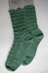 Finished Ripples socks