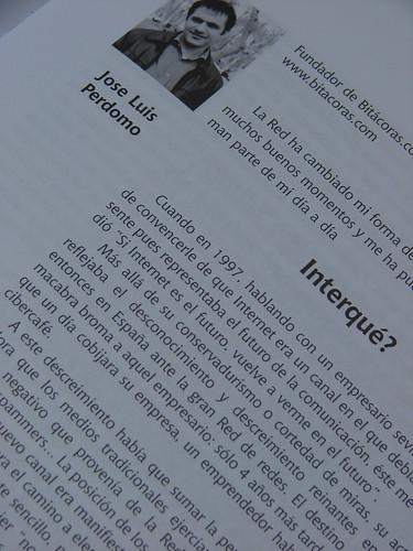 José Luis Perdomo en Blogbook