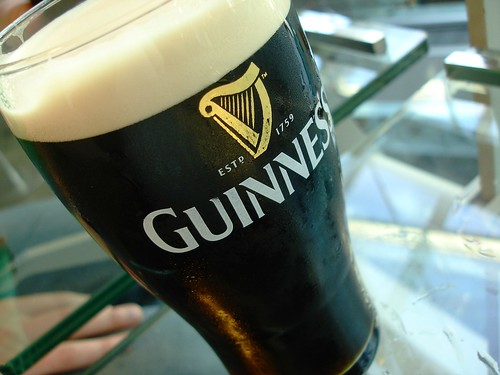 Guinness is pretty ...