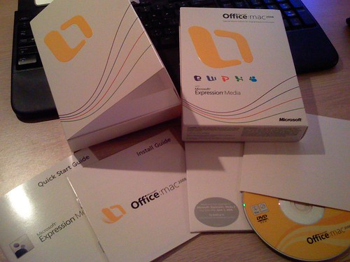 Office 2008 for Mac arrives!