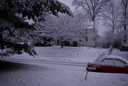 First Snow-street