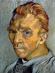 Self Portrait at Saint Remy - 1889
