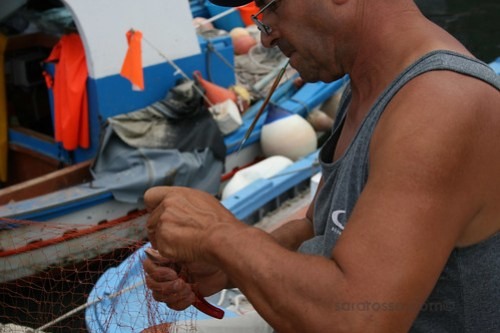 Repairing the Net, Marettimo Sicily