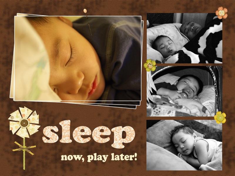 Sleep Now, Play Later