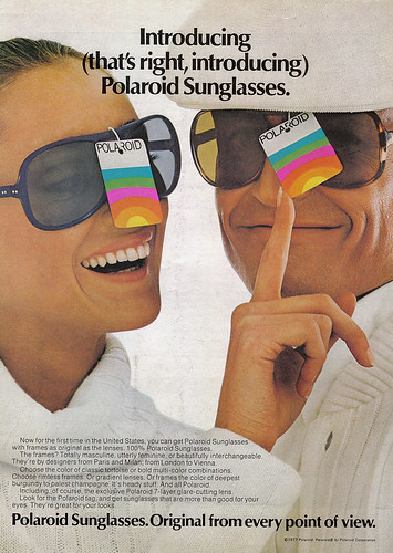 Vintage Ad #381: Instant Sunglasses by jbcurio.