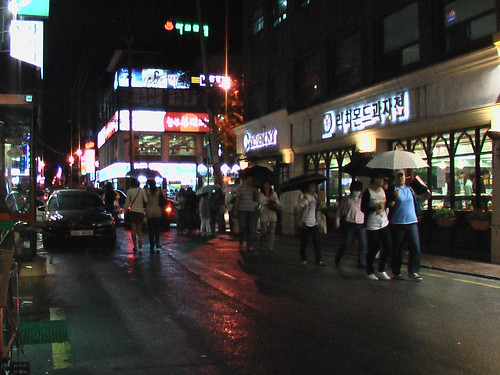 Hongdae in September