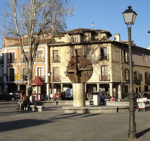 Plaza de los Santos Niños en la actualidad