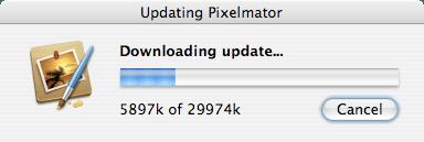 Pixelmator Update