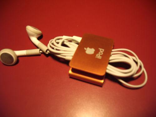 iPod Suffle recogido