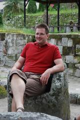 Matt in Stone Seat by Ben Peters