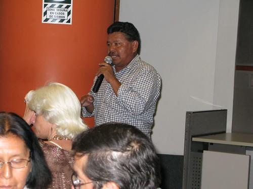 Henry Pilares en el CAFAE