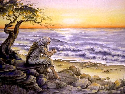 João na Ilha de Patmos