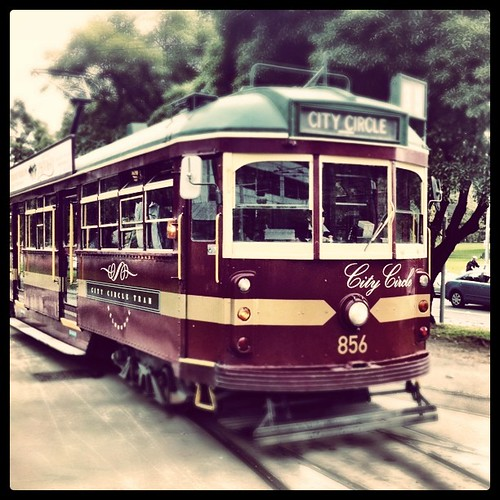 Clang, clang, clang went the trolley.