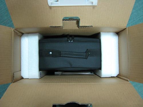 箱子裡的投影機