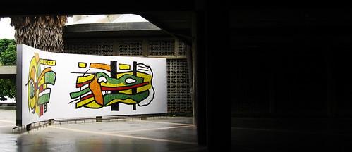 Mural Plaza Cubierta UCV