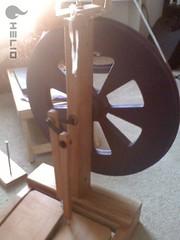 My Ashford Kiwi spinning wheel!