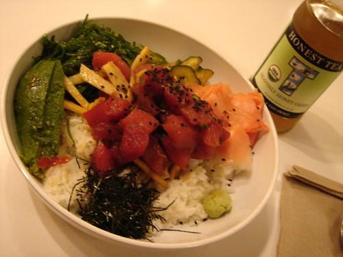 Tuna Poke Lunch @ Mr Hana (Westfield Mall)