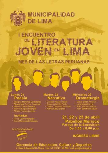 I ENCUENTRO DE LITERATURA JOVEN
