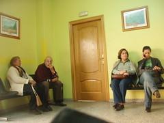 Sala de espera del curandero