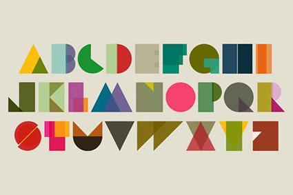 Poster con l'alfabeto