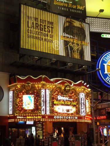 Ripley's Believe it or not, Times Square, NYC