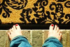 Spring Break Happy Feets
