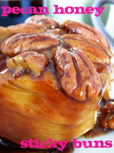 pecan honey sticky buns