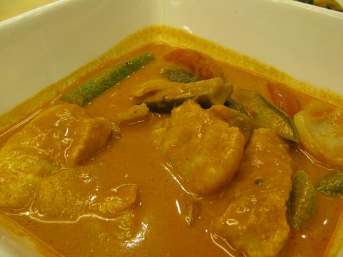 Fish Curry at Malacca