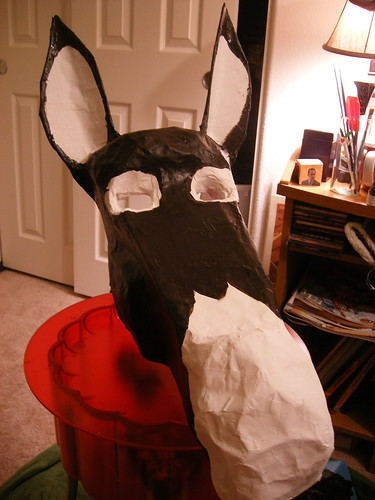 Donkey Mask (sans hair and half painted)