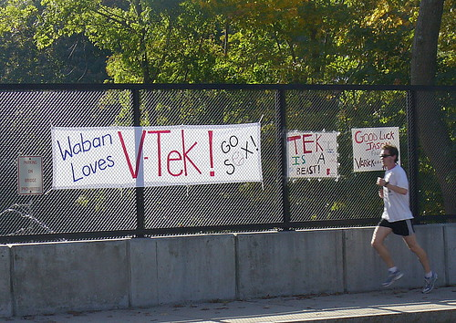 One runner loves V-Tek!
