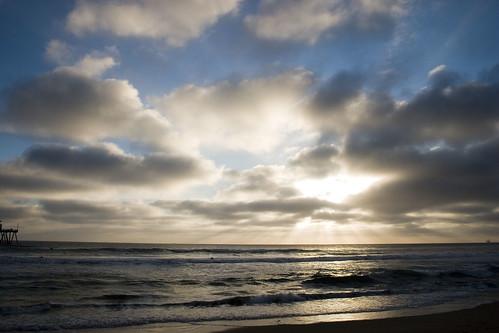 A Huntington Beach sunset